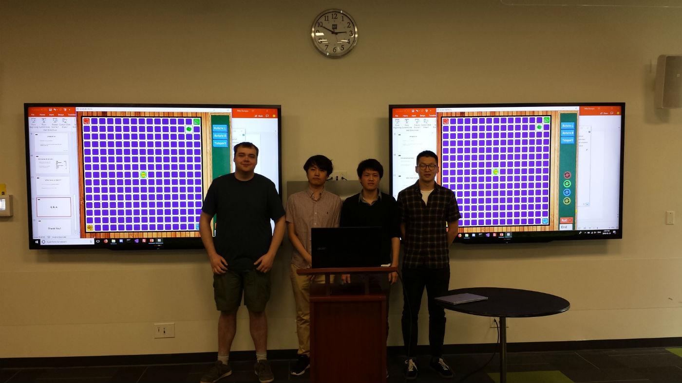 Eric Wu, Cooper Shang, Mike Dumycz and Steven Chae