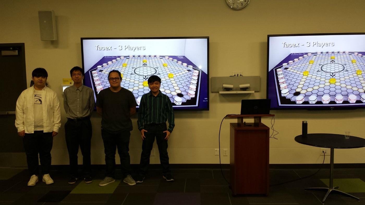Davis Pham, Anthony Wang, Zhiyuan Lin and Tian Kirkpatric